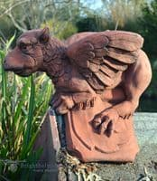 Griffin roof finial angled ridge tile
